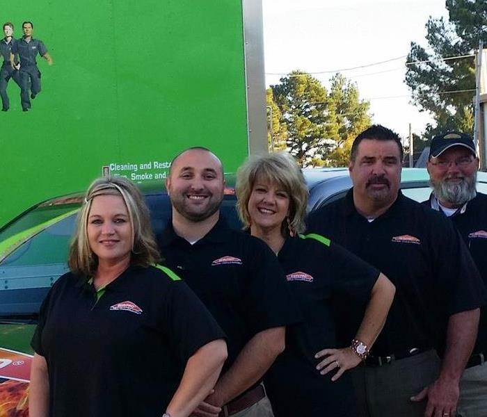 SERVPRO team picture