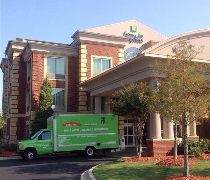 SERVPRO using specialized equipment