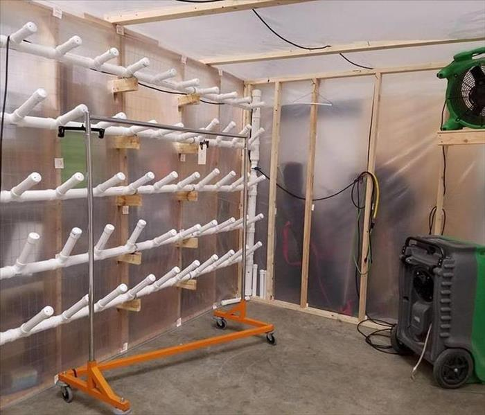 SERVPRO utilizes drying chambers