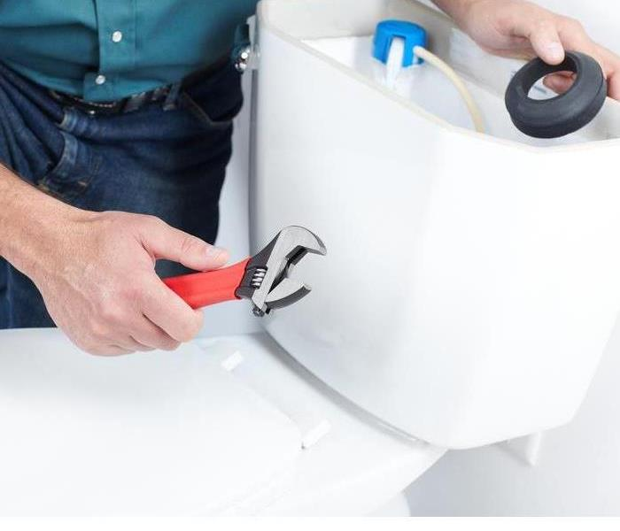 Water Damage How To Replace a Broken Toilet